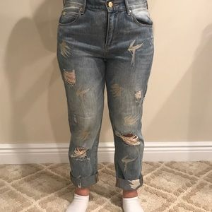 Sass & Bide Capri Ripped Jeans Size 26